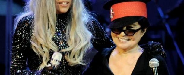 Lady Gaga et Yoko Ono, hommage John Lennon Youtube
